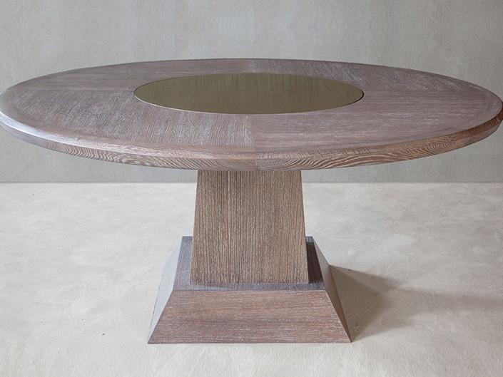 Siena Lazy Susan Dining Table